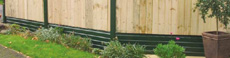 Example of PVCU Gravel Boards from Southern Decks